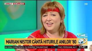 Marian Nistor si Doina, la Voi cu Voicu. Liderul formatiei Savoy, in direct la Antena 3