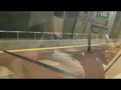 MARTA Red Line Full Ride NB at night (03-02-18) 4K