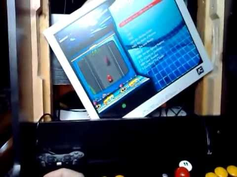 Arcade cabinet - monitor rotating mechanism test - YouTube