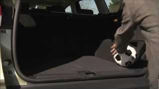 Ford Kuga 2012 aktiviranje pomika prtljažnih vrat z zamahom noge