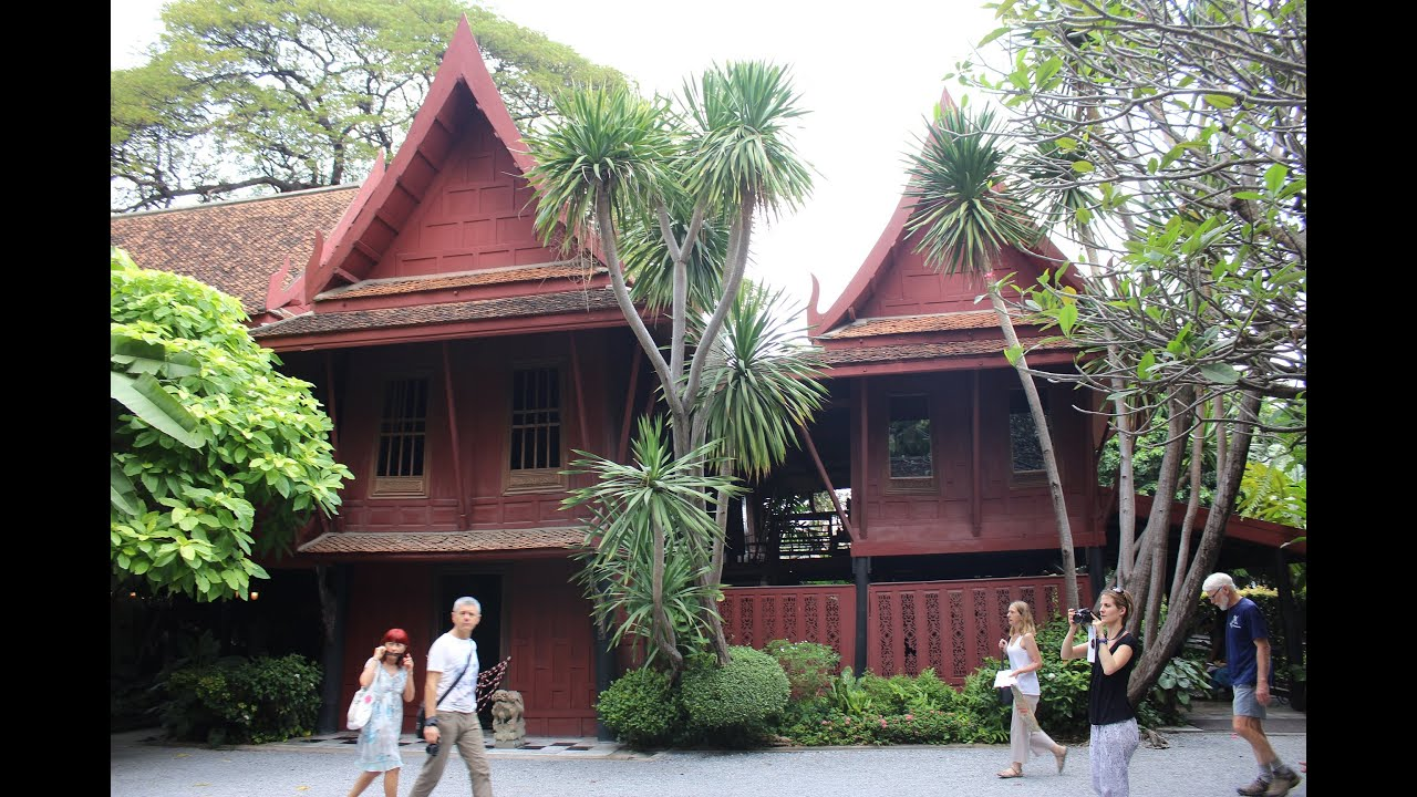 Thailand 2016 #Jim Thompson House Museum, Bangkok - YouTube