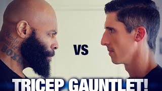 Triceps Workout - 200 Reps (CAVALIERE VS. CT FLETCHER!) thumbnail