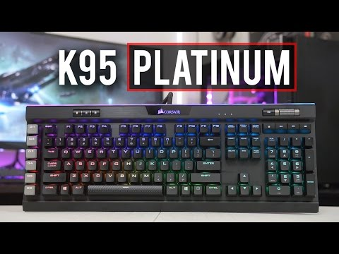 Corsair K95 RGB PLATINUM Review! Best New Gaming Toy?