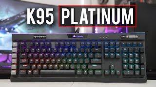 corsair K95 RGB PLATINUM Review! Best New Gaming Toy?