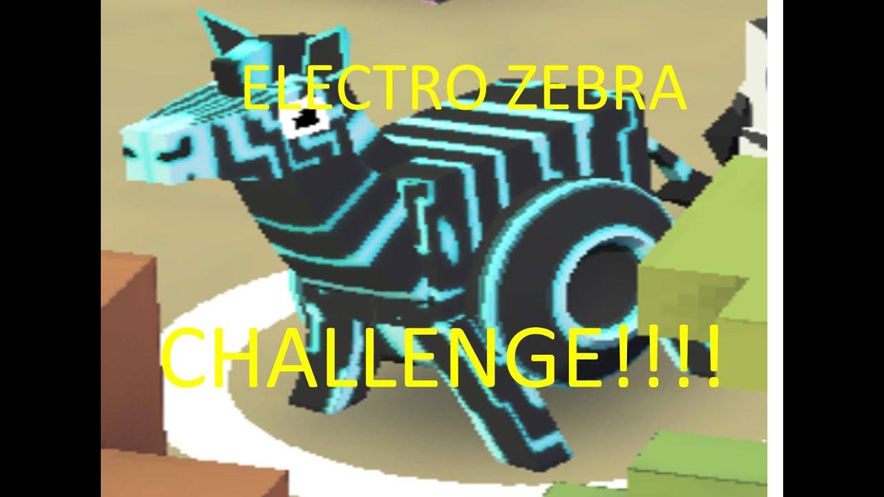 Rodeo Stampede Elektro Zebra Challenge Youtube