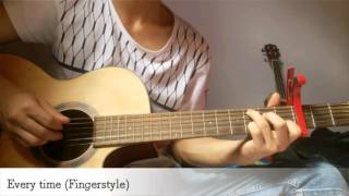 (CHEN X Punch)Everytime - Guitar Fingerstyle cover by PiNo