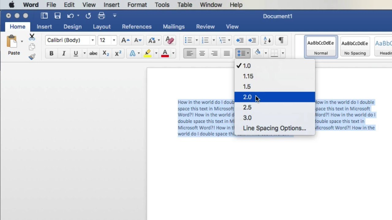 how do i double space my essay on microsoft word A basic guide for using microsoft word especially if you need to revise or add text to the essay to double-space your essay, select format from the menu bar.