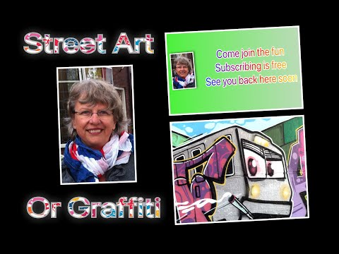 StreetArt or Graffiti? A craft or a profession?