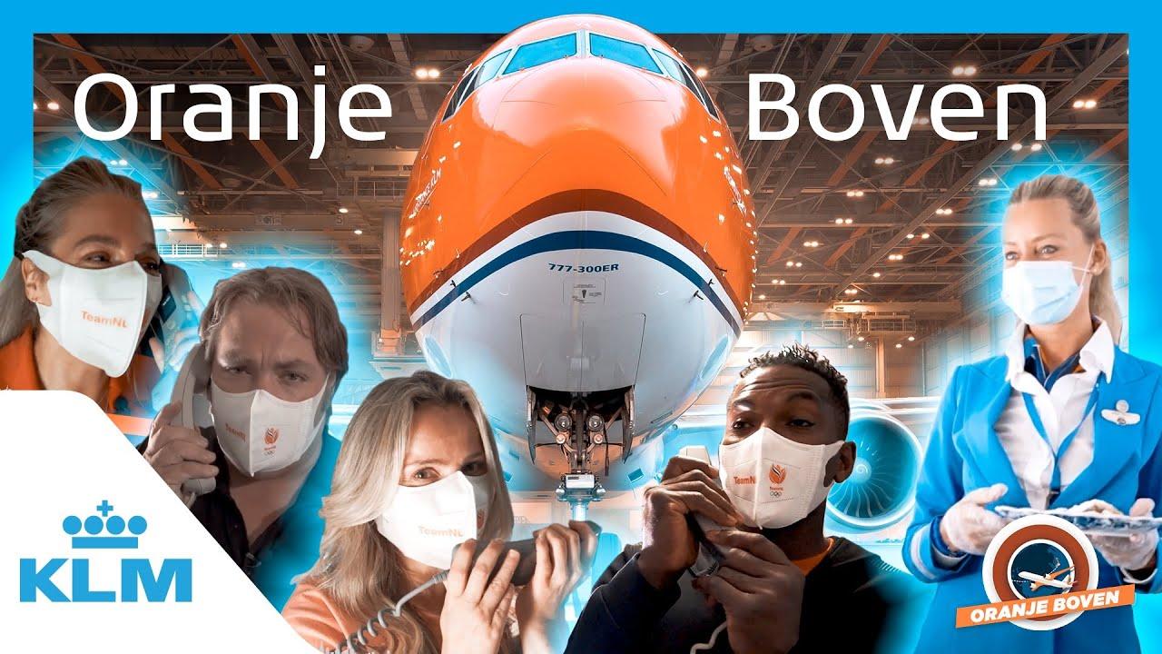 KLM - Oranje Boven ✈️🧡🇳🇱