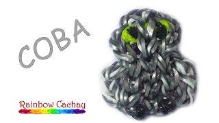 Плетение совы из резинок Rainbow Loom Bands. cachay.video Плетение из резинок.