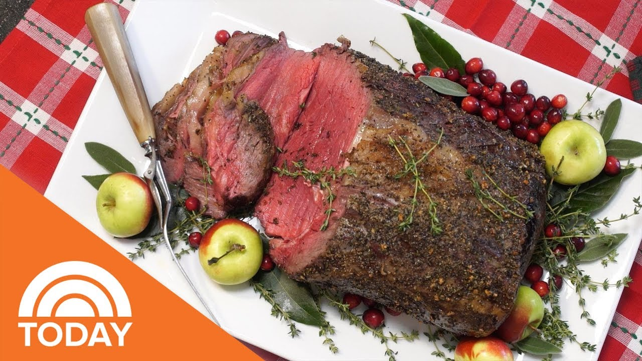 How To Make The Perfect Prime Rib Roast Today Youtube