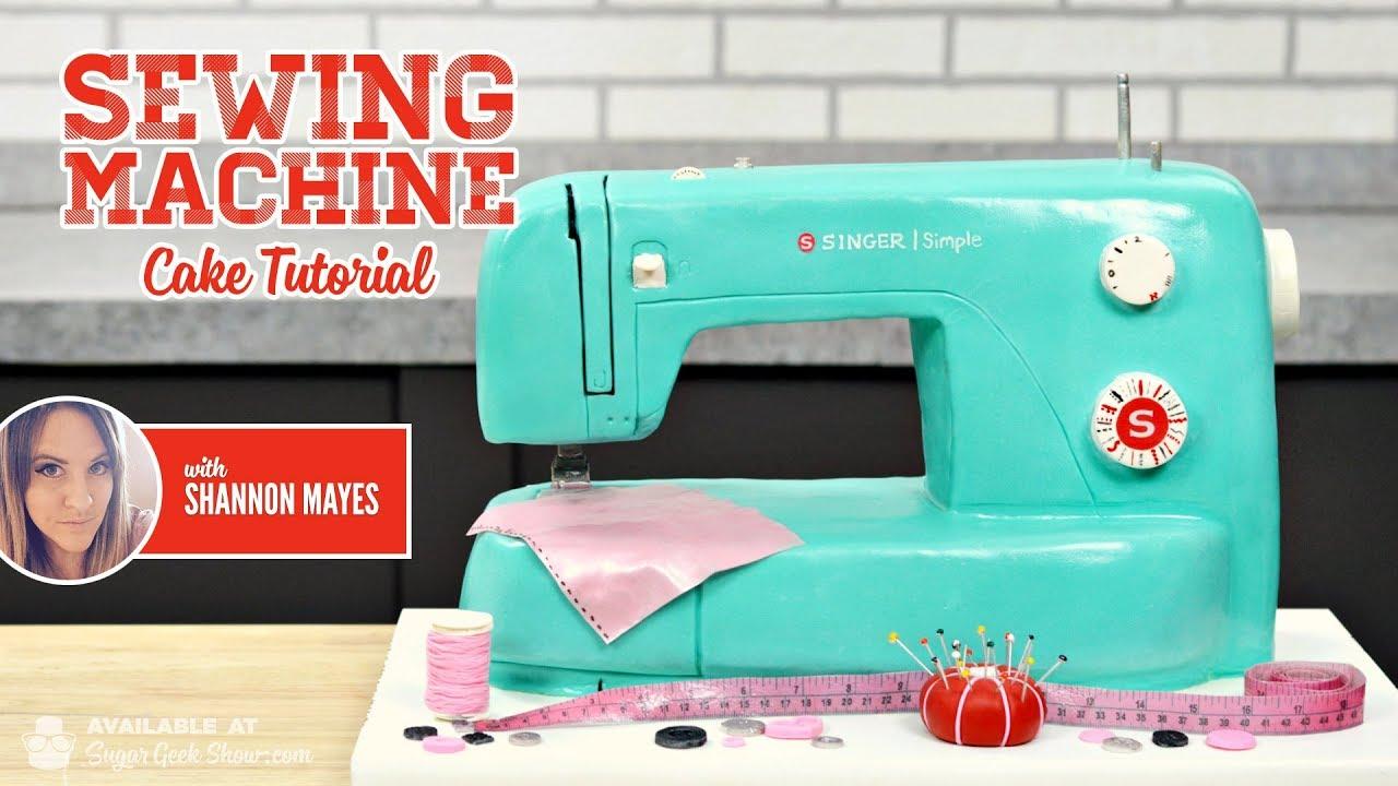 Download Sewing Machine Cake Promo
