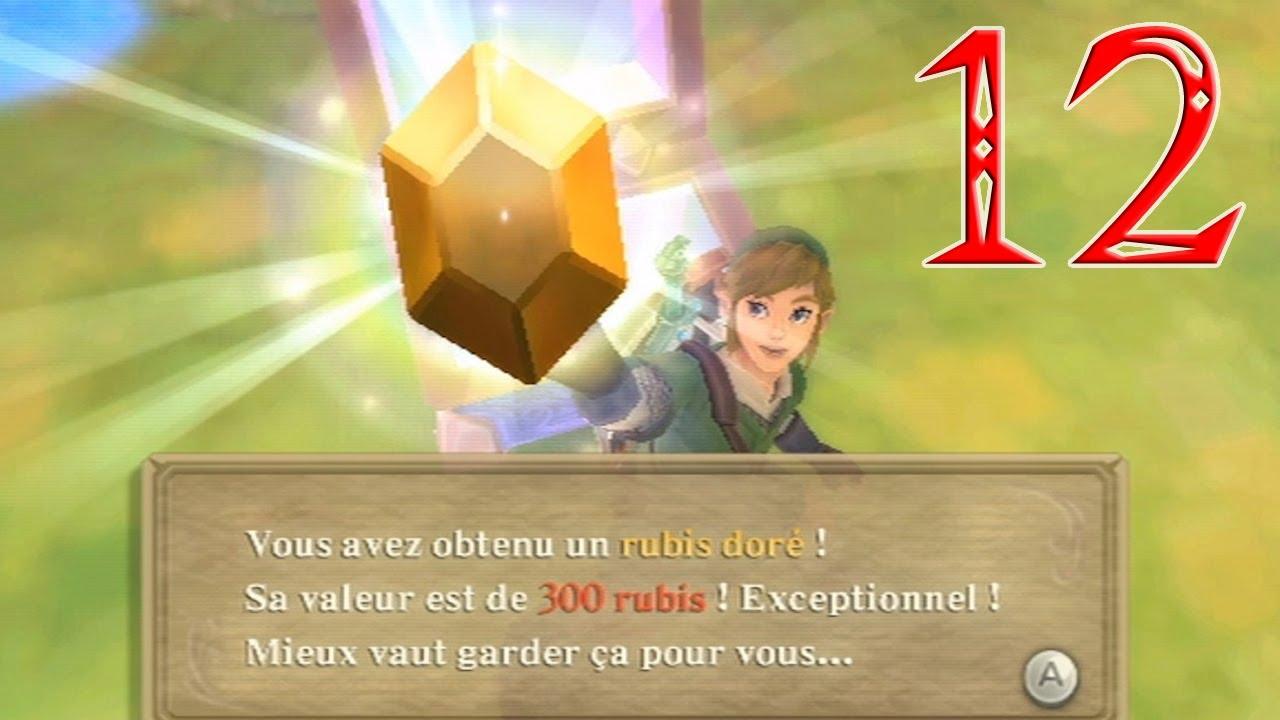 Episode 12 - 300 rubis ! - We play Zelda : Skyward Sword