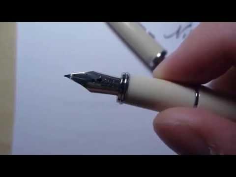 Spencerian No 1 Dip Nib Fountain Pen Conversion And W