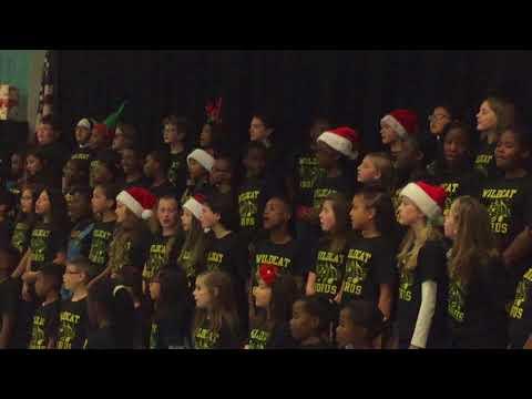 Widewater Elementary School Chorus 2017 - O come little children