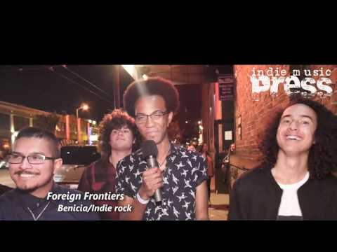 FOREIGN FRONTIERS Slims interview: 4/8/17 Indie Music Press