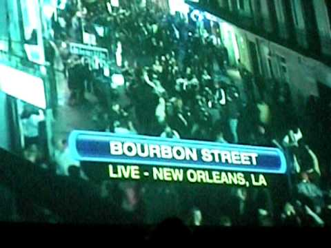 Crowd Reaction to Saints Winning Superbowl XLIV (2010)