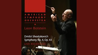 Symphony No. 4 in C Minor, Op. 43: I. Allegretto poco moderato (Live)