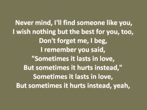 Adele - Someone Like You With Lyrics Full Song Adele Someone Like You With  Lyrics