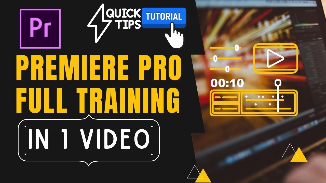Premiere Pro Advance Training Class in 1 Video | Free Video Editing Course | Wedding Video Mixing