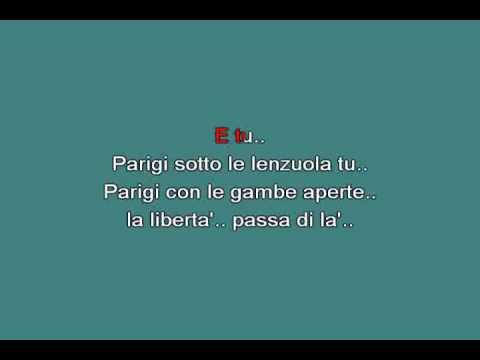 Parigi con le gambe aperte   Paoli Gino [karaoke]