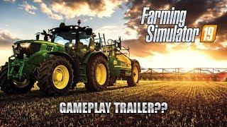 Farming Simulator 2019   FS 19   WHEN GAMEPLAY TRAILER   КОГДА ГЕЙМПЛЕЙ   GAMESCOM