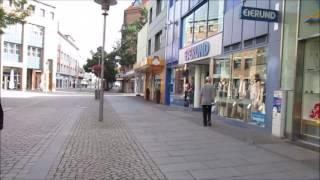 Spaziergang in Hildesheim durch die City am Sonntag