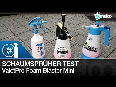 ValetPRO Foam Blaster Mini| Kwazar Foam Nozzle| Gloria FM10 Alternative| Liquid Elements Golden Baby