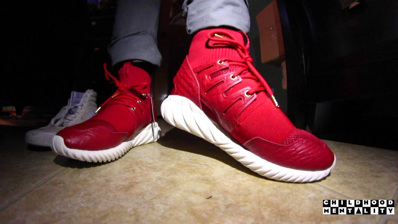 online retailer 908ab 96209 Adidas Tubular Doom 'Chinese New Year' Unboxing + On Feet Review with  Chrissy Chris!