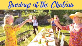 Sundays at the Chateau: AN IDYLLIC POTAGER TABLE SETTING!