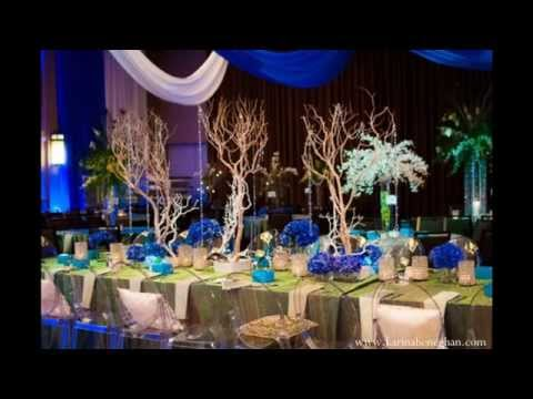 Peacock themed wedding decorations ideas