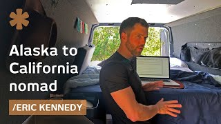 A custom van to make the case for seasonal West Coast nomadism