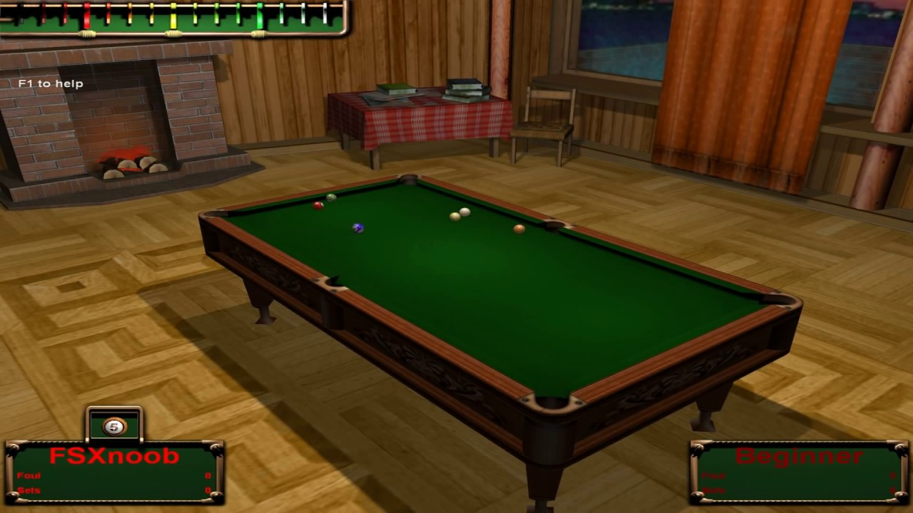 free game billiard