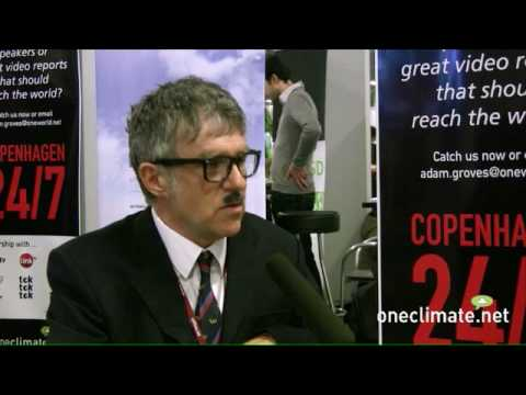 Comedian Peter Macfadyen for OneClimate at COP15 in Copenhag