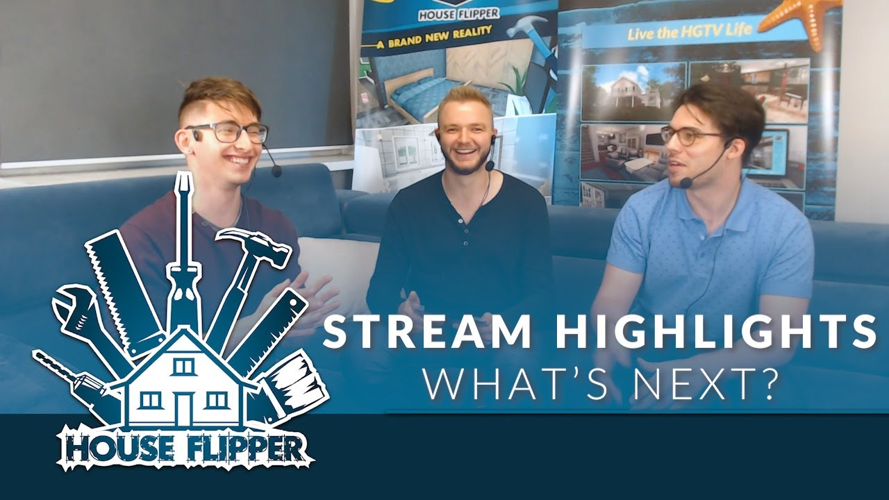 Stream Highlights - Plans for consoles, Next PC Update, HFVR release and special quest!