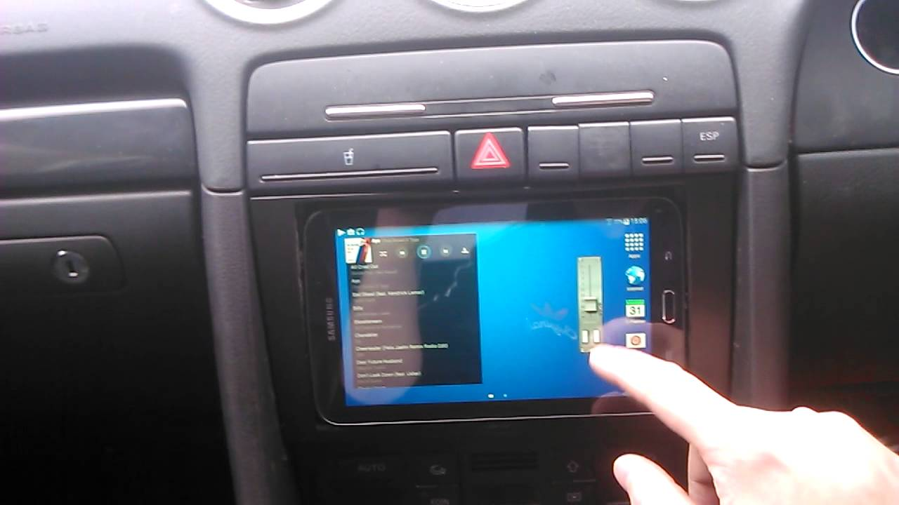 android tablet in car double din upgrade youtube. Black Bedroom Furniture Sets. Home Design Ideas