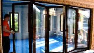 Двери гармошка от Алюминиевых Конструкций (Киев)(, 2015-06-22T15:49:23.000Z)