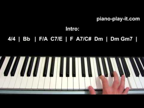 God Bless America Piano Tutorial Celine Dion Irving Berlin