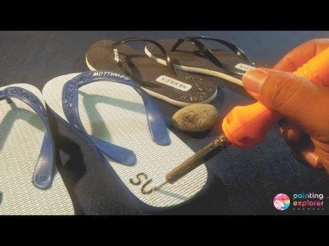 HOW TO SIGN Trailer: FLIP-FLOPS WITH SOLDER - HOT PRINT (Menandai Sandal Jepit)