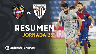 Resumen de Levante UD vs Athletic Club (1-1)