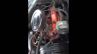 327 Chevy motor out of 1963 Impala