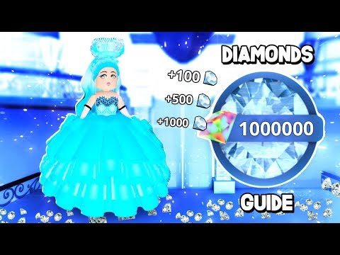 How To Get Diamonds Fast In Royale High! Tips & More! (Royale High Roleplay) 💎