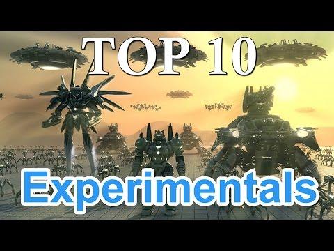 TOP 10 Most Powerful Experimentals Units - Supreme Commander 2