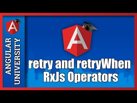 💥 Angular HTTP Retry - Retry HTTP requests in Error using the retry and  retryWhen RxJs Operators