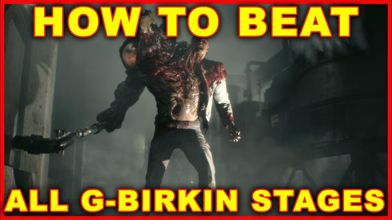 e3726bad9c9a Resident Evil 2  How to Beat G-Birkin (All Boss Fights) 2019 Remake ...
