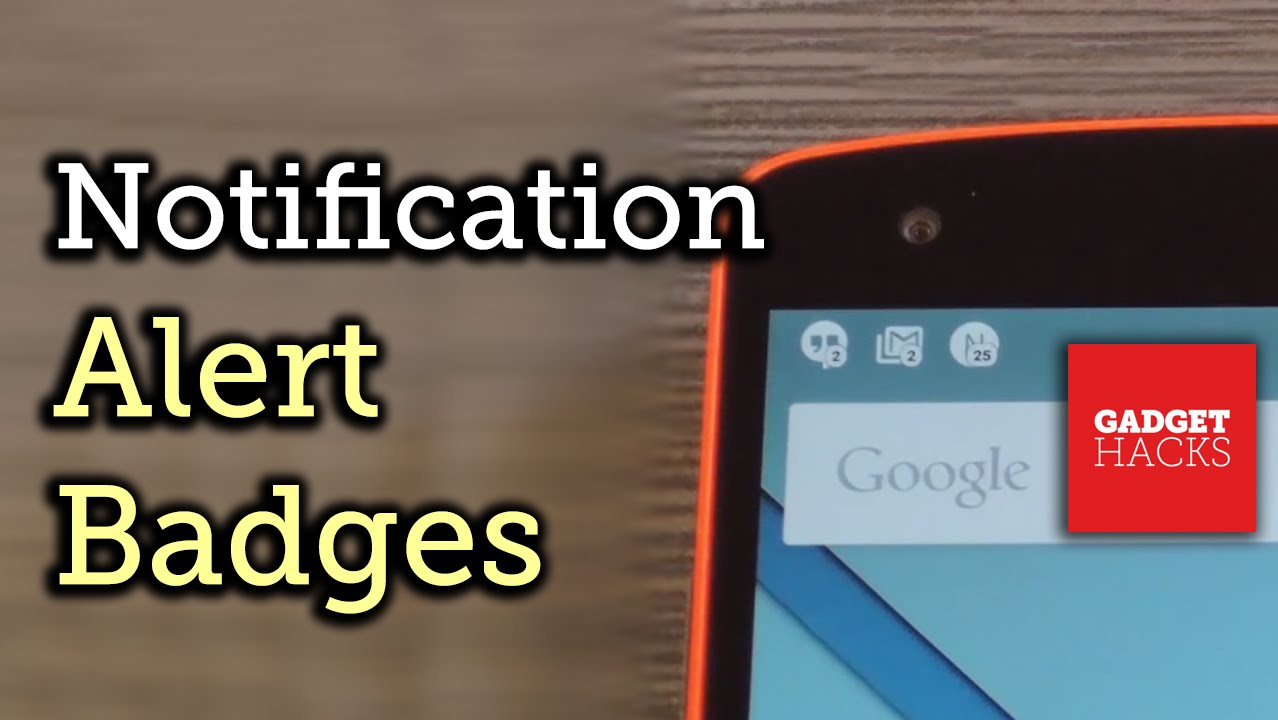 Add Notification Count Badges to Android's Status Bar [How-To]