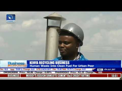 Kenya Recycling Coy Converts Human Waste Into Clean Fuel For Urban Poor