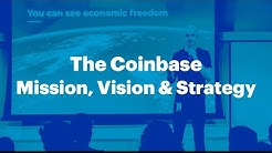 The Coinbase Mission, Vision & Strategy