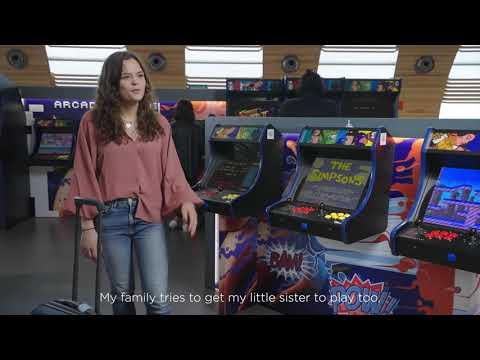 Arcade Gaming areas - Paris Charles de Gaulle - Terminal 2E - Portes K - Paris Aéroport Expériences