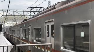 東京メトロ副都心線7000系7105F綱島駅通過